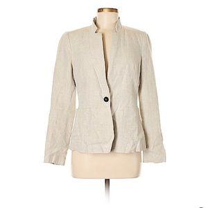 Zara Basic Linen Blazer